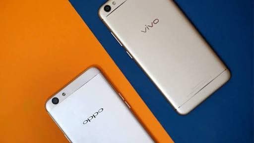 reason highest selling Oppo Vivo phone Indian Market